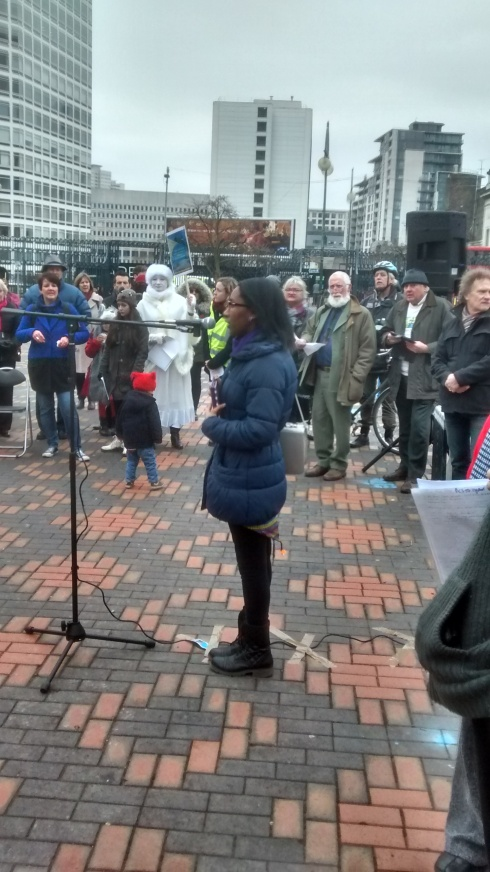 Serena Arthur - Birmingham poet laureate 2014-15