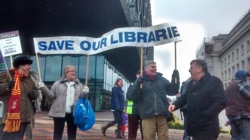 Save our Libraries; Carl Chinn and others