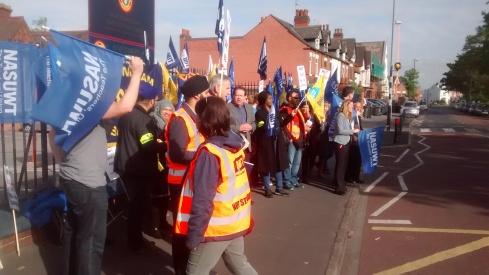 Small Heath School strike 2 014
